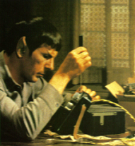 Spock builds a WYSIWIG word processor with stone knives and bear skins.